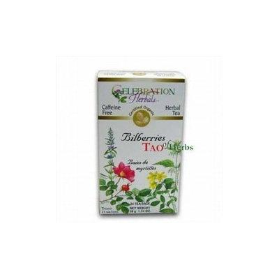 ORGANIC CONNECTIONS,LTD Celebration Herbals, Herbal Tea, Bilberries, Caffeine Free, 24 Tea Bags, 1.34 oz (38 g) ( Multi-Pack)