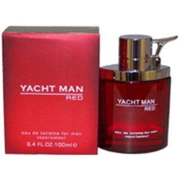 Yacht Yacht Man Red EDT Spray For Men 3.4 Oz.