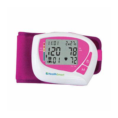 Mabis Briggs Healthcare Healthsmart Women's Automatic Wrist Digital Blood Pressure Monitor in Pink