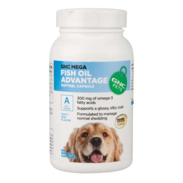 GNC Pets GNC Mega Fish Oil Advantage Dog Softgel Capsule