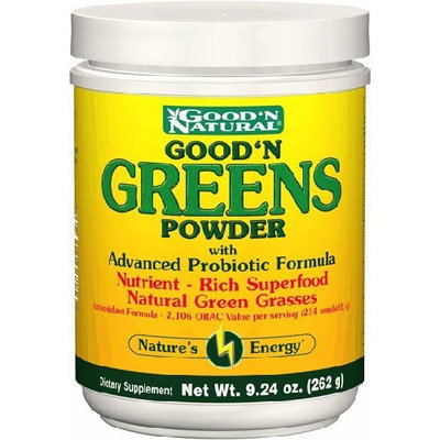 Good N Greens Powder 9.24oz Powder - Good'n Natural