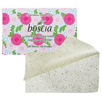 boscia Blotting Linens 100 Sheets Green Tea