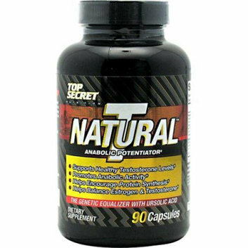 Top Secret Nutrition Natural T Testosterone Booster 90 Caps