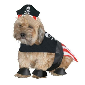 Costumes For All Occasions FW90056PM Pirate Dog Medium