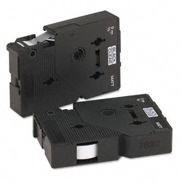 Brother International Tcm0z Brother - Tc Series Tape Cartridge For P-touch Labelers Black On Clear Matte 3 (tcmoz)