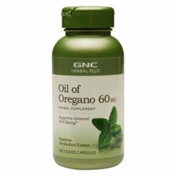 Gnc Herbal Plus Formula GNC Herbal Plus Oil of Oregano 60 mg