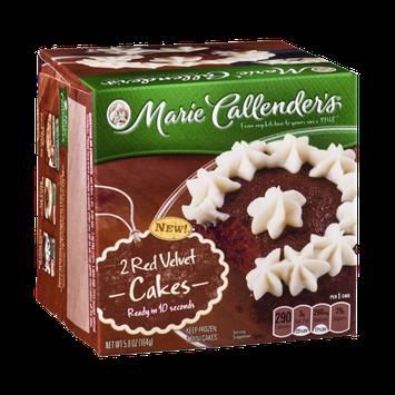 Marie Callender's Red Velvet Cakes - 2 CT