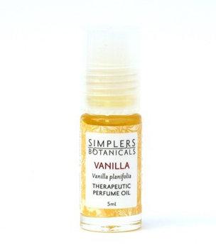 Simplers Botanicals - Therapeutic Perfume Oil Vanilla - 5 ml.