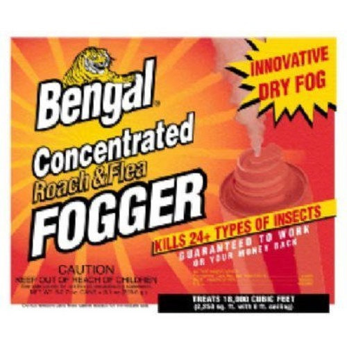 Bengal Chemical Roach And Flea Indoor Insect Fogger Reviews