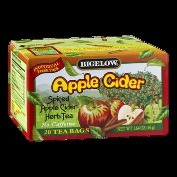 Bigelow Apple Cider Spiced Apple Cider Herb Tea - 20 CT