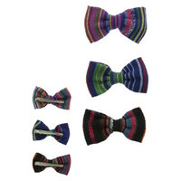Women's Mini Bow Hair Clips -Multicolor
