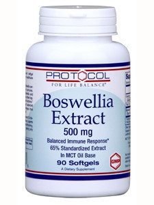 Protocol For Life Balance Boswellia Extract 500mg 90 gels