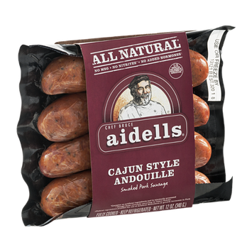 Chef Bruce Aidells All Natural Smoked Pork Sausage Cajun Style Andouille
