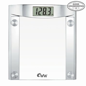 Weight Watchers Chrome and Glass Scale