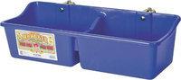 Miller Mfg Inc Miller Mfg Co Inc Feeder With Divider- Blue 16 Quart - HFP24DBLUE