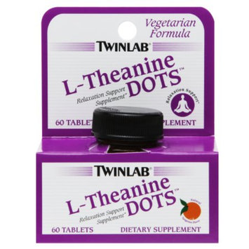 Twinlab L-Theanine Dots, Tangerine, 60 ea