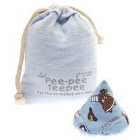 Beba Bean The Peepee Teepee for the Sprinkling WeeWee: Firedog in Laundry Bag