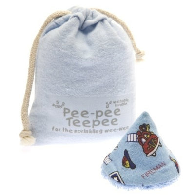 Beba Bean The Peepee Teepee for the Sprinkling WeeWee: Firedog in Laundry Bag