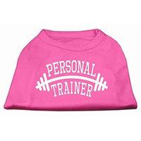 Mirage Pet Products 51-88 XXXLBPK Personal Trainer Screen Print Shirt Bright Pink XXXL - 20