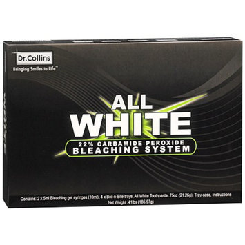 Dr. Collins All White 22% Carbamide Peroxide Bleaching System