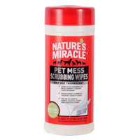 Nature's Miracle NATURE'S MIRACLETM Pet Mess Scrubbing Wipes