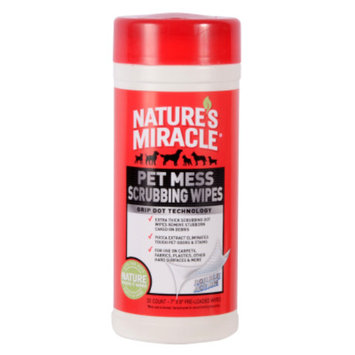 Nature's Miracle® Pet Mess Scrubbing Wipes