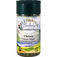 Celebration Herbals Organic Chives Freeze Dried -- 3 g