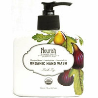 Nourish Organic Hand Wash Fresh Fig 7 fl oz