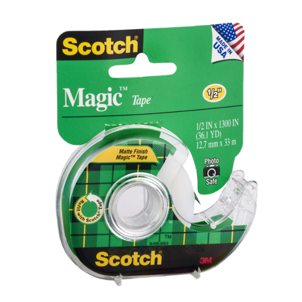 Scotch Magic Tape 1/2