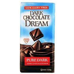 DREAM BAR Pure Dark Chocolate Bar 3 OZ