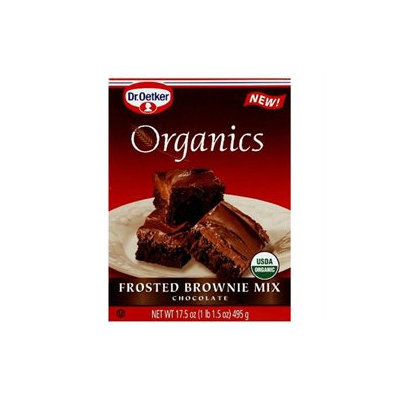 DR OETKER ORGANIC'S Organic Chocolate Frst Brownie Mix 17.5 OZ