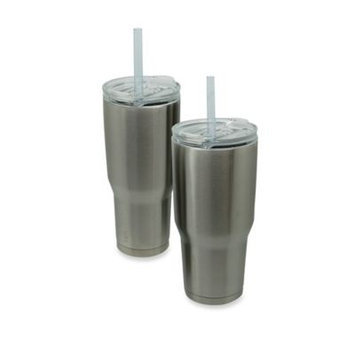 COLD-1 Vacuum-Insulated Tumbler with Straw