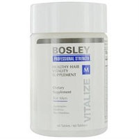 Bosley Professional Strength Healthy Hair Vitality Supplement for Men