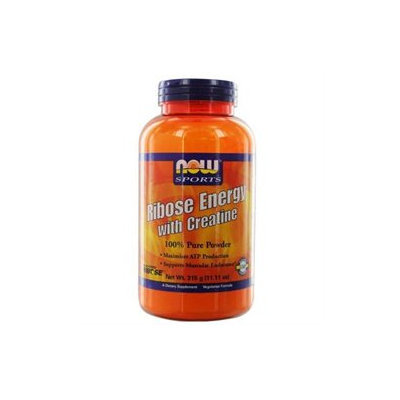 NOW Foods - Ribose Energy with Creatine 100 Pure Powder - 11.11 oz.