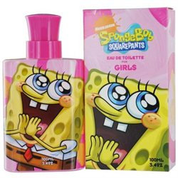SPONGEBOB 10th ANNIVERSARY For 3.4 oz EDT Spray For Girls By NICKELODE