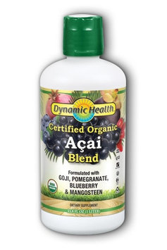 Dynamic Health Acai Juice Blend Certified Organic
