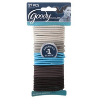 Goody Ouchless 37 Count Elastics - Blue/Grey