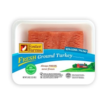 Foster Farms Ground Chicken With Natural Flavoring