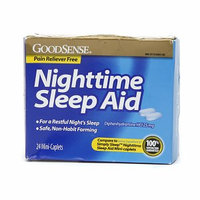 Good Sense Nighttime Sleep Aid Mini-Caplets