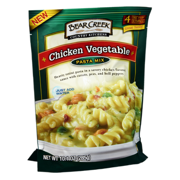 Bear Creek Country Kitchens Chicken Vegetable Pasta Mix