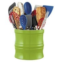 CHEFS Kitchen Tool Crock, Green