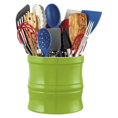 CHEFS Kitchen Tool Crock, Green