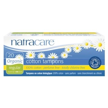 Natracare Organic All-Cotton Tampons