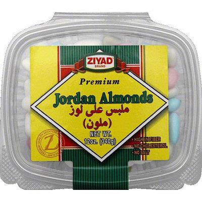 Generic Ziyad Premium Jordan Almonds, 12 oz, (Pack of 6)