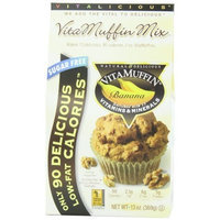 Vitalicious VitaMuffin Mix, Banana (Sugar Free), 13-Ounce Packages (Pack of 3)