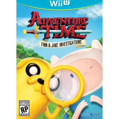Little Orbit Adventure Time Finn Jake (Wii U) - Pre-Owned