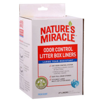 Nature's Miracle NATURE'S MIRACLETM Odor Control Litter Box Liner