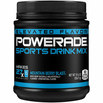 Powerade Mountain Berry Blast Sports Drink Mix