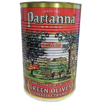 Partanna Green Olives, Castelvetrano, 4,100g Tin