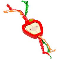 WARE Critter Tug-N-Toss Apple Chew Toy